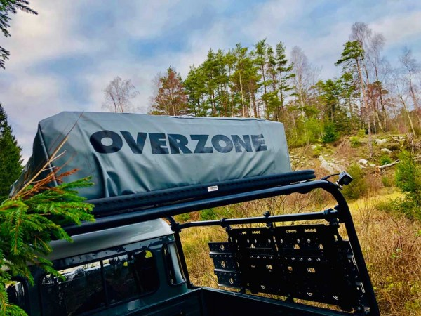 Dachzelt Overzone Medium - Ausstellungszelt Messefahrzeug
