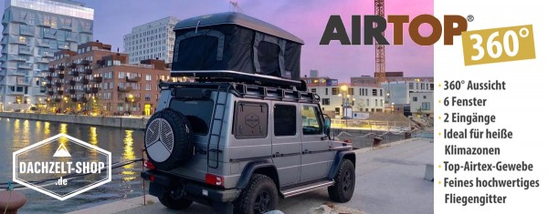 Dachzelt Airtop Range 360°