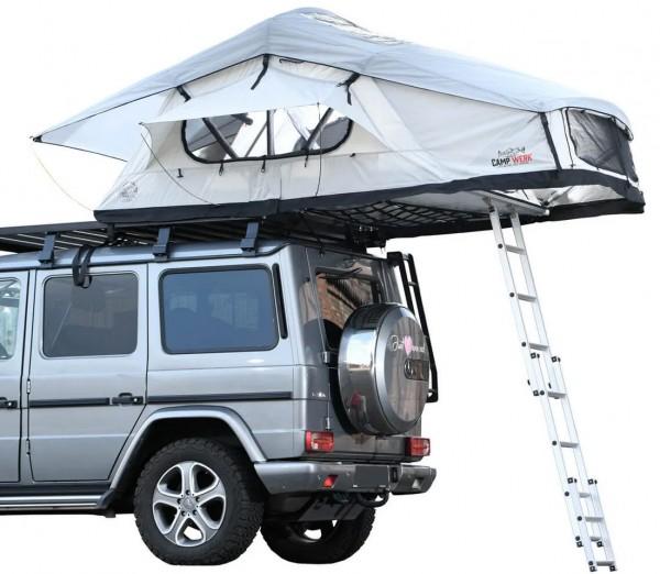 Campwerk Adventure Dachzelt 140 mit Innenzelt und Mesh Unterlage