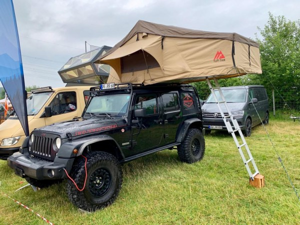 Dachzelt Tuff Trek TT02 Soft Top Tent