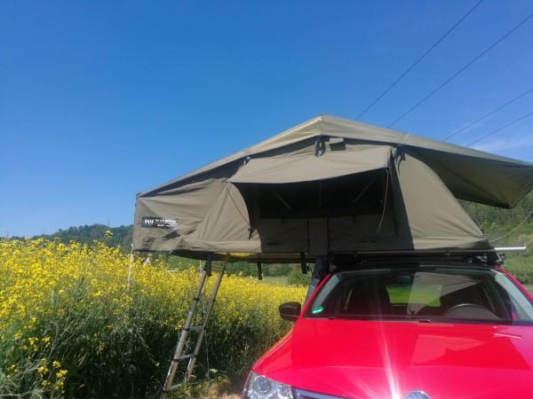DTBD Dachzelt 140L olive Musterzelt